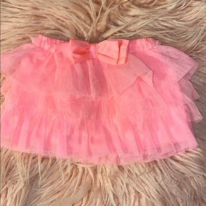 babygirl skirt with bow accent - 6m